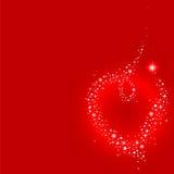 Coração de Stardust Imagem de Stock Royalty Free