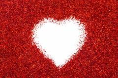 Coração de Valentin Fotos de Stock Royalty Free