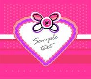 Coração decorativo Foto de Stock