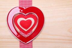 Coração decorativo Fotografia de Stock Royalty Free