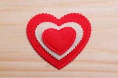 Coração decorativo Fotografia de Stock