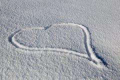 Coração desenhado Foto de Stock