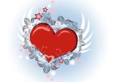 Coração do amor Fotos de Stock