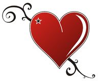 Coração do amor ilustração do vetor