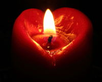 Coração do amor Fotos de Stock Royalty Free