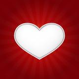 Coração do amor ilustração stock