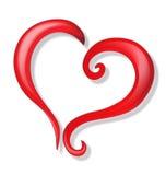 Coração do amor Imagens de Stock Royalty Free