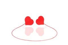 Coração do amor Fotografia de Stock
