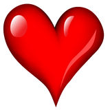 Coração do amor Imagens de Stock