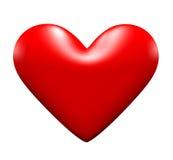 coração do amor 3d Imagem de Stock
