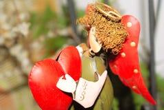 Coração do anjo. Imagens de Stock