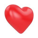 Coração do anjo em um fundo branco Imagem de Stock Royalty Free