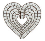coração do Câmera-rolo Fotos de Stock Royalty Free