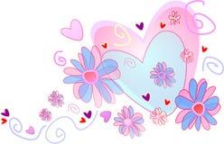 Coração do casamento Imagem de Stock Royalty Free