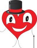 Coração do cavalheiro Foto de Stock Royalty Free