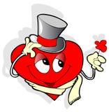 Coração do cavalheiro Fotografia de Stock