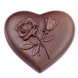 Coração do chocolate Imagem de Stock
