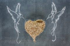 Coração do dia de Valentim Imagens de Stock Royalty Free