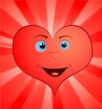 Coração do dia do Valentim Foto de Stock