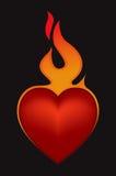Coração do dia dos Valentim Ilustração Stock