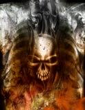 Coração do diabo Ilustração Royalty Free