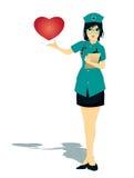 Coração do doutor ilustração stock