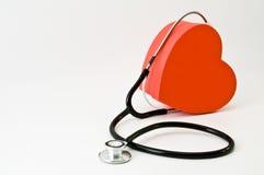 Coração do doutor fotografia de stock