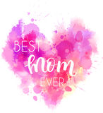 Coração do feriado do dia do ` s da mãe ilustração royalty free