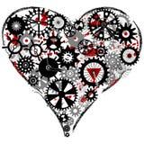 Coração do ferro Foto de Stock Royalty Free