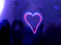 Coração do fundo Imagem de Stock Royalty Free