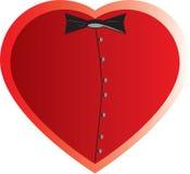 Coração do homem Imagem de Stock Royalty Free