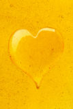 Coração do mel Fotos de Stock