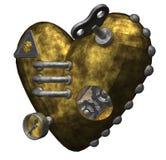 Coração do metal Fotografia de Stock Royalty Free