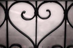 Coração do metal Imagens de Stock Royalty Free