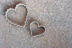 Coração do molde Foto de Stock