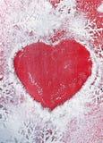 Coração do Natal Fotografia de Stock Royalty Free