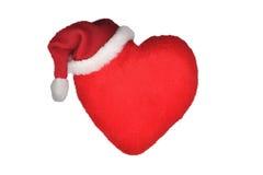 Coração do Natal Fotos de Stock Royalty Free