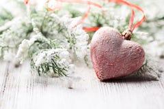 Coração do Natal. Foto de Stock
