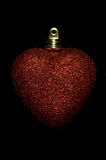 Coração do Natal imagens de stock royalty free