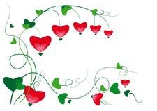 Coração do ornamento Ilustração Stock