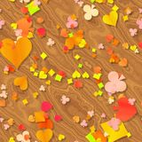 Coração do outono Foto de Stock