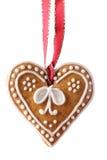 Coração do pão-de-espécie Fotografia de Stock