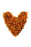 Coração do pólen Imagens de Stock Royalty Free