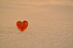 Coração do pirulito Fotos de Stock Royalty Free