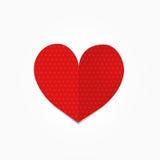 Coração do ponto ilustração stock