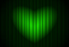 Coração do projector Fotografia de Stock Royalty Free