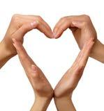 Coração do símbolo Imagens de Stock