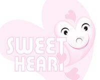 Coração do suor Imagem de Stock
