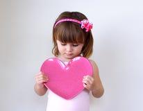 Coração do Valentim Fotografia de Stock