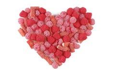 Coração do Valentim Fotos de Stock